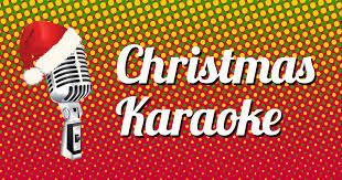 christmas karaoke sing along to christmas carols and christmas