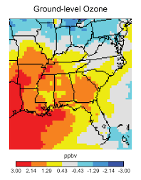 Southeastern United States Map by Southeast National Climate Assessment