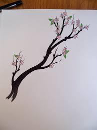 cherry tree branch by crazyeyedbuffalo on deviantart