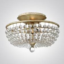 crystal semi flush mount lighting crystal semi flush mount lighting rcb lighting