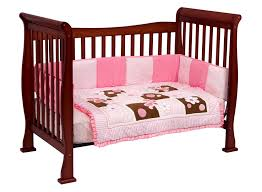 Cherry Convertible Crib Davinci 4 In 1 Convertible Crib In Cherry W Toddler Rails