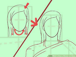 how to draw a woman in a saree 5 steps with pictures wikihow