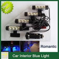 Car Interior Blue Lights Aliexpress Com Buy New Daytime Running Light 4 3led Blue Lamp
