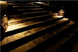 battery powered outdoor stair lights for paved stairs artenzo
