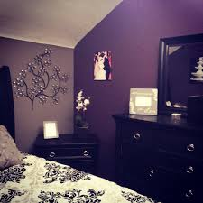 bedroom baby nursery ideas purple navy polyester window