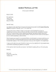 Cover Letter Sample Cover Letter Format Of Business Proposal Letter Sample Cover Letter Templates