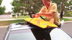 porta surf auto how to put soft surfboard racks on a car swell