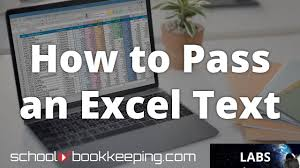 how to pass an excel test youtube