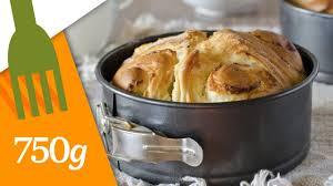 750grammes recettes de cuisine recette de brioche feuilletée au beurre 750 grammes