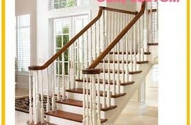 stainless steel handrail pu aluminum deck stair railing finehope