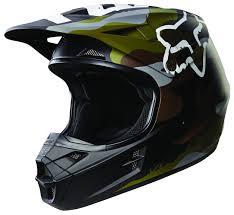 fox motocross apparel fox racing v1 camo helmet revzilla