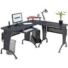 Piranha Corner Computer Desk Large Corner Computer Desk With Keyboard Shelf Home Office Piranha