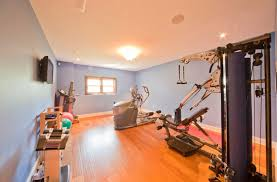 interior winsome transitional home gym decor ideas using modern