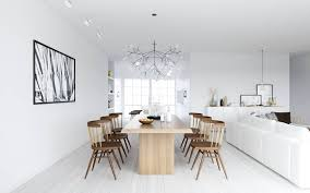inspiring and stunning scandinavian dining room decor danish room