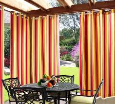 Outdoor Curtains With Grommets 10 Relaxing Outdoor Curtain Designs Rilane