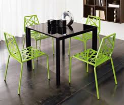 stylish metal modern chair design green colours home inspiring