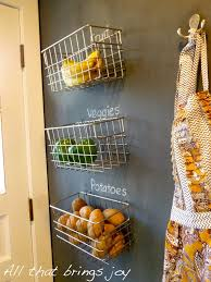 wall mounted fruit basket inserts the interior stylishly without