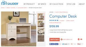 Sauder August Hill Computer Desk Sauder Gorgeous Thrifty Furniture Cheap Is The New Classy