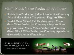 miami production production miami florida regulus