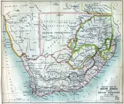 Map Of Southern Africa by South Africa