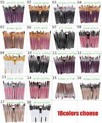 cosmetic makeup brushes set powder foundation eyeshadow eyeliner