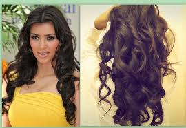 kim kardashian hair tutorial how to curl long hair big