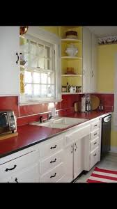 Red Kitchen Backsplash Best 20 50s Kitchen Ideas On Pinterest Retro Kitchens Pastel
