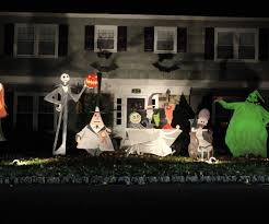Decorated Christmas Homes Nightmare Before Christmas Home Decor Home Designing Ideas