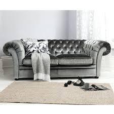 Grey Velvet Chesterfield Sofa Vintage Velvet Sofa Forsalefla