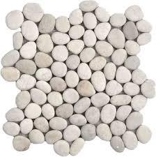White Pebble Tiles Bathroom - pebble tiles bathroom pebble tiles pebble mosaic pebble mosaics
