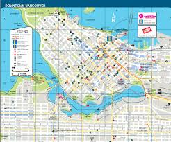 Map Of Us And Canada Map Of Vancouver Bc Canada You Can See A Map Of Many Places On