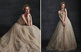 beige dresses for wedding beige wedding dress on onewed