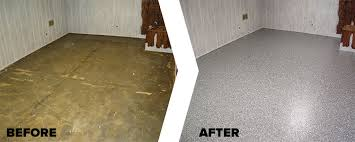 Basement Humidity - chicago basement floor epoxy coating repair