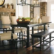 Beautiful Bassett Kitchen Tables Dark Brown Wooden Double Pedestal - Bassett kitchen tables