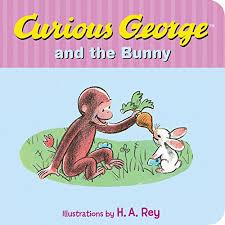 curious george bunny rey 9780544565685 amazon