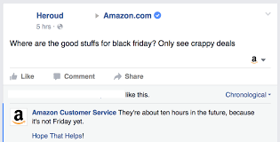 amazon black friday hours two guys pose as customer service for major brands to troll angry