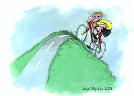 witzige geburtstagsspr che zeichnung fahrradfahren miguelez reimix illustrationen