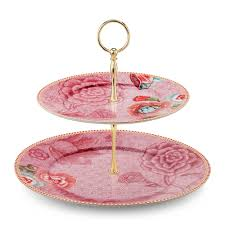 tier cake stand buy pip studio to 2 tier cake stand pink amara