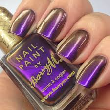 the polish list barry m persian from the aquarium collection
