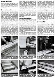 solid oak rocking chair plans u2022 woodarchivist