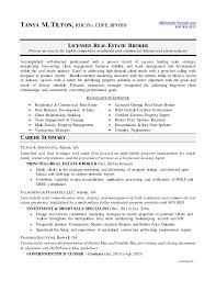 Real Estate Broker Resume Sample by Real Estate Resume Sample Professional Resume Templates Resume