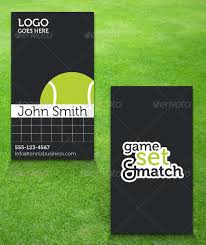 tennis business card by teambudgie graphicriver