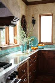 Kitchen Distressed Turquoise Kitchen Cabinets Home Design Ideas 60 Best Turquoise Kitchens Images On Pinterest Spaces Color