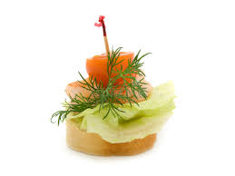 canapé made in canape made from shrimp stock image image of boiled toast 8172917