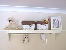 Changing Table Shelves by Decorative Nursery Shelves Storage Ideas
