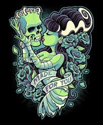 halloween art prints lowbrow tattoo and fine canvas wall art prints free us shipping