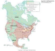 Where Is North America On The Map by Thinking Spatially