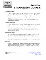 resume objective statement exles receptionist resumeive statement for administrative assistant office exles