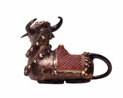 wholesale metal bull sculpture figurine bulk buy handmade 6 5