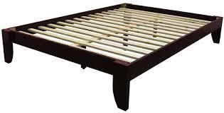 Wooden Bed Amazon Com Epic Furnishings Stockholm Solid Wood Bamboo Platform